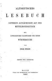 Altdeutsches Wörterbuch: I