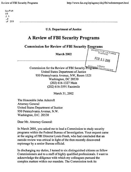 Download A Review of FBI Security Programs Book