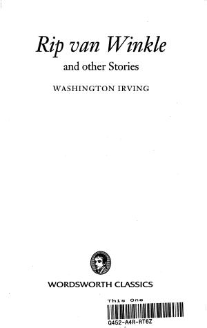 Rip Van Winkle  the Legend of Sleepy Hollow   Other Stories PDF