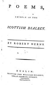 Poems, chiefly in the Scottish dialect