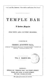 Temple bar, conducted by G.A. Sala