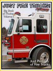 Just Firetrucks! vol. 1: Big Book of Fire Truck Photographs & Firetruck Pictures