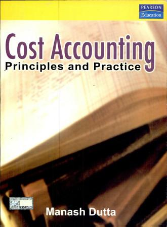 Cost Accounting  Principles And Practice PDF