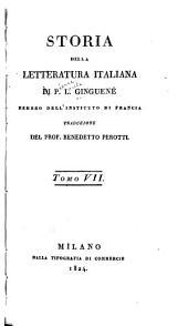 Storia della letteratura italiana: Volume 7
