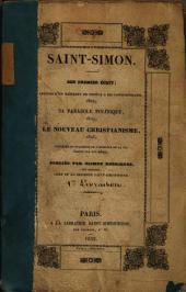Saint-Simon, son premier écrit