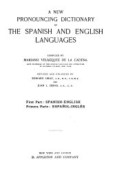 A New Pronouncing Dictionary of the Spanish and English Languages: Part 1