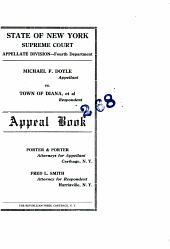 State of New York Supreme Court Appellate Division---Fourth Department.