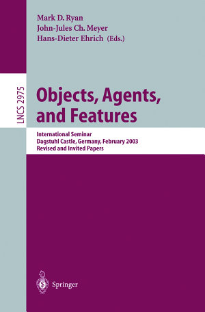 Objects  Agents  and Features