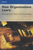 How Organizations Learn Book