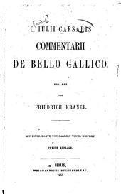 C. Iulii Caesaris Commentarii de bello Gallico
