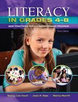 Literacy in Grades 4 8 PDF
