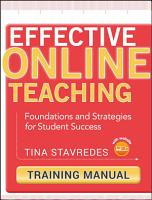 Effective Online Teaching  Training Manual PDF