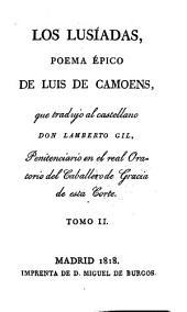 Poesías: ¬Los Lusíadas : poema épico, Volumen 2
