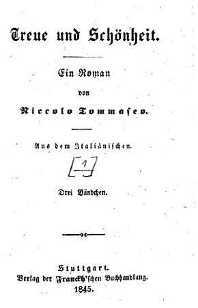 Treue und Sch  nheit PDF