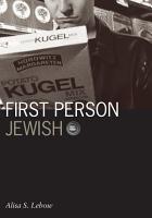 First Person Jewish PDF