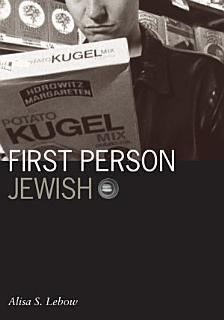 First Person Jewish Book