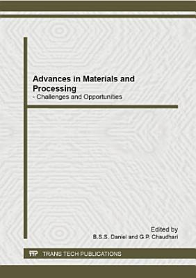 Advances in Materials and Processing PDF