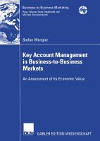 Key Account Management in Business to Business Markets PDF