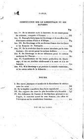 Dissertation sur le libertinage et ses dangers, relativement aux facultés intellectuelles et physiques