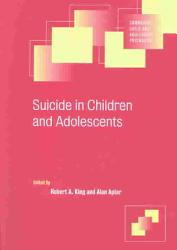 Suicide In Children And Adolescents Book PDF
