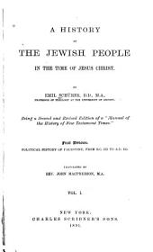 Index to Schürer's History of the Jewish People in the Time of Christ: Volume 1