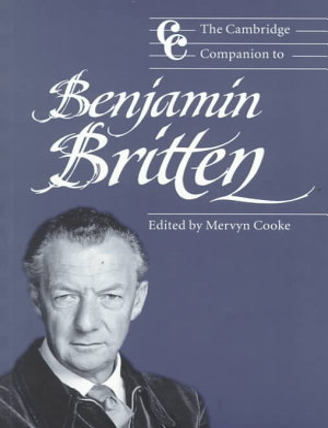 The Cambridge Companion to Benjamin Britten PDF