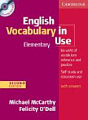 English Vocabulary in Use   Elementary  Edition with Answers and CD ROM PDF