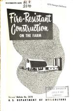 Fire-resistant Construction on the Farm