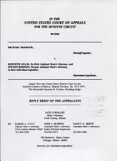 McGrath V. Gillis: Issues 94-2443