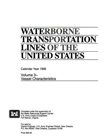 Waterborne Transportation Lines of the United States PDF