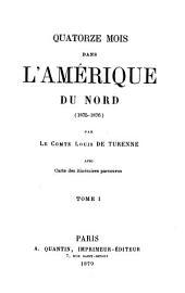 Quatorze mois dans l'Amérque du Nord (1875-1876)