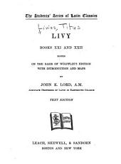 Livy, (books XXI and XXII;): Book 1