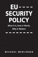 EU Security Policy