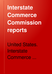 Interstate Commerce Commission Reports: Reports and Decisions of the Interstate Commerce Commission of the United States, Volume 2