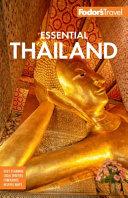 Fodor s Essential Thailand PDF