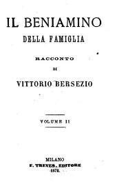 Il Benjamino della famiglia: Racconto, Volume 2