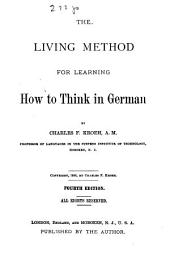 The Living Method for Learning how to Think in German