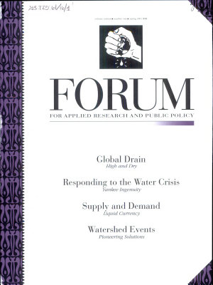 Forum for Applied Research and Public Policy PDF