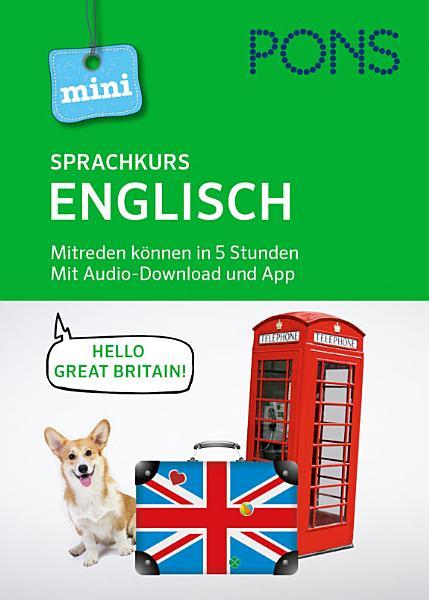 PONS Mini Sprachkurs Englisch  Mit Audio Download und App
