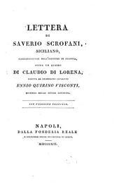 Lettera sopra un quadro di Claudio di Lorena ...: Conversione francese
