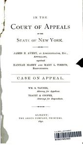 Court of Appeals, New York, Supreme Court, General Term