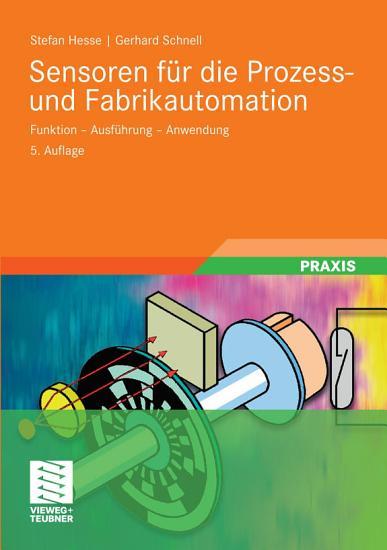 Sensoren f  r die Prozess  und Fabrikautomation PDF