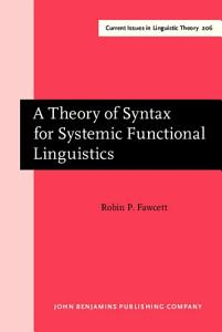 A Theory of Syntax for Systemic Functional Linguistics PDF