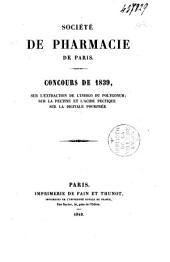 Société de pharmacie de Paris