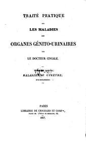 Maladies De L'Urètre; Avec trois planches: 1
