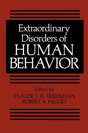 Extraordinary Disorders of Human Behavior PDF