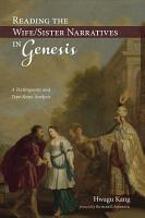 Reading the Wife Sister Narratives in Genesis PDF