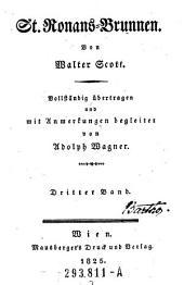 Walter Scott's Werke, St. Ronans=Brunnen