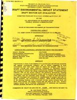 State Trunk Highway 26  Fort Atkinson Bypass   Jefferson County  Wisconsin Draft Environmental Impact Statement  Draft Section 4 F  Evaluation PDF