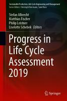 Progress in Life Cycle Assessment 2019 PDF